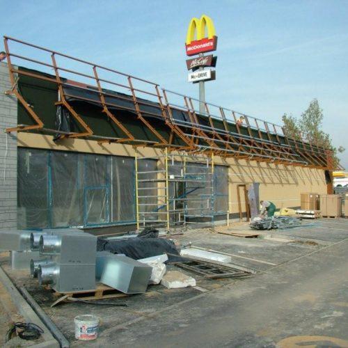 Restauracja McDONALD`s Ostrów Wlkp. Generalne wykonawstwo - 2010