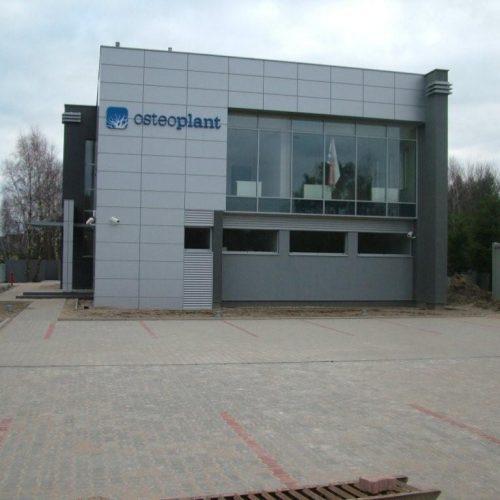 Wytwórnia Implantów Stomatologicznych; Dąbrowa k. Poznania. Nadzory inwestorskie - 2010/2011