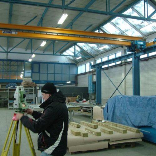ABUS Grodzisk. Konstrukcja nośna suwnicy - 2011