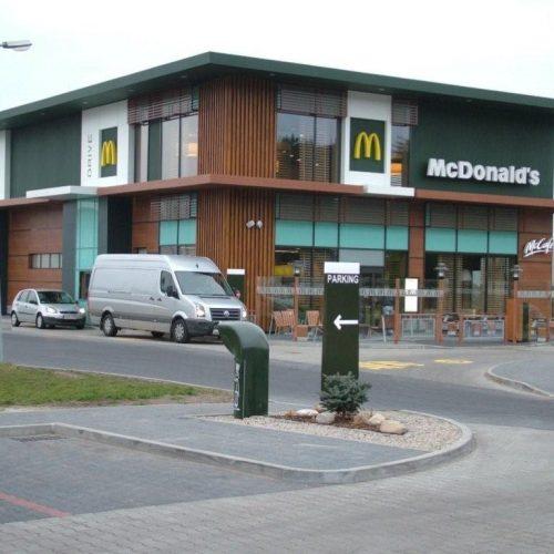 McDONALD`s Goleniów - restauracja sieciowa. Generalne Wykonawstwo - 2011
