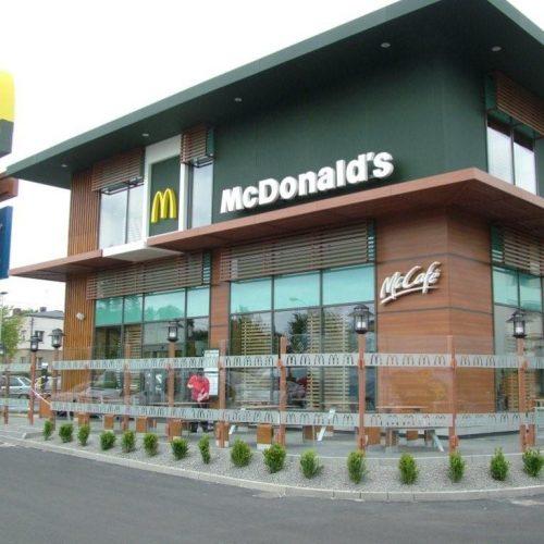 McDONALD`s Poznań ul.Grunwaldzka - restauracja sieciowa - Generalne Wykonawstwo - 2012