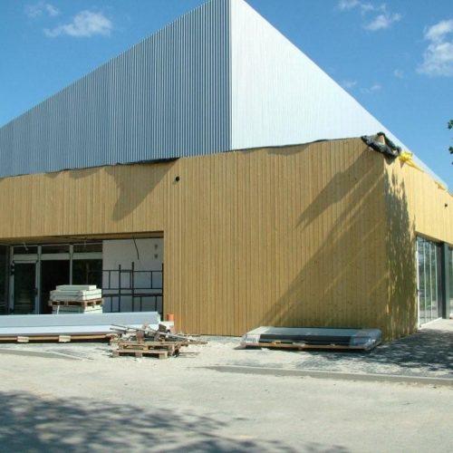 Centrum Handlowe wKamionkach k. P-nia - Market TESCO - Nadzór inżynierski - 2012