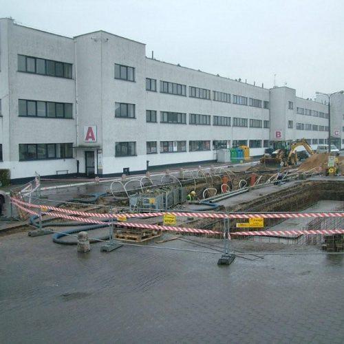 Budowa konstrukcji wag samochodowych dla Remondis Sanitech wPoznaniu - Generalne Wykonawstwo - 2012
