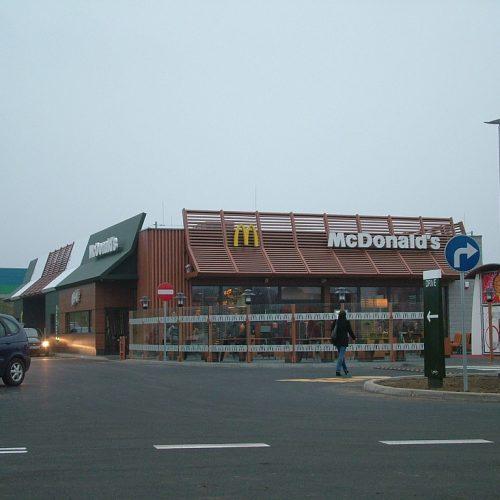 McDonald`s restauracja sieciowa ul.Wrocławska, Września - Generalne Wykonawstwo - 2013
