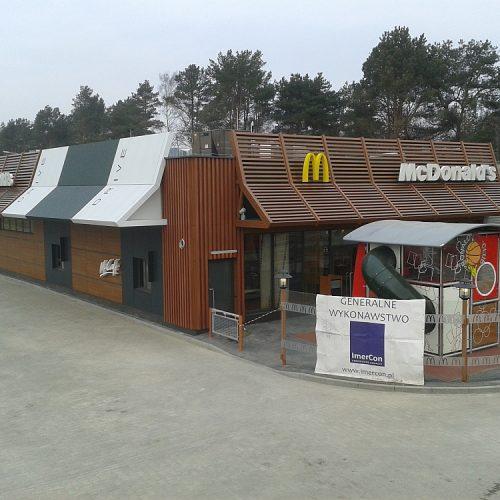 Restauracja sieciowa McDonald`s,  ul.Legionów , Świnoujście - Generalne Wykonawstwo - 2013/2014