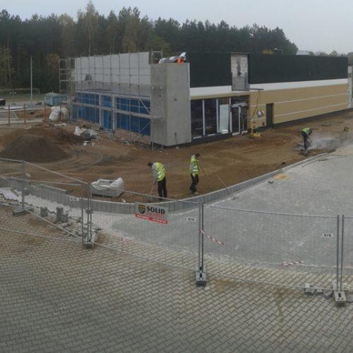 Budowa restauracji sieciowej McDonald's wm. Osinowie Dolnym k. Cedyni – 2014