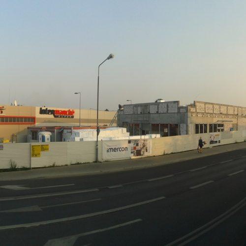 Budowa restauracji sieciowej McDonald's wLuboniu k. Poznania – 2015