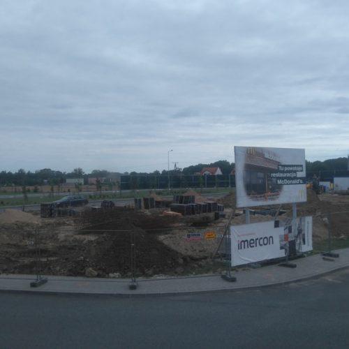 Budowa restauracji sieciowej McDonald's w(Miejsce Obsługi Podróżnych przy autostradzie A1) Machnacz k. Włocławka - 2016