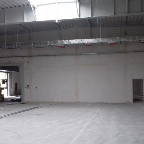 Roboty budowlane związane zrozbudową Budynku Drukarni ohalę magazynowo- produkcyjną firmy AN STUDIO wSuchym Lesie k. Poznania, 2017