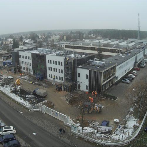 Roboty modernizacyjne obiektu biurowego dla PARK GRUNWALD sp. zo.o., ul.Kamiennogórska wPoznaniu, 2017