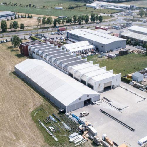 Rozbudowa hali produkcyjno-magazynowej wraz zplacem manewrowym dla NGR TECHNOLOGIE wGrodzisku Wlkp., 2018