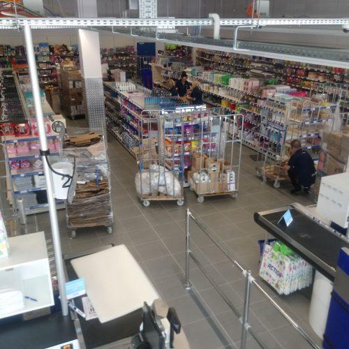 Roboty budowlane dla ACTION Poland Sp. zo.o., budynek handlowy przy ul.Fabianiego wRadomsku, 2018