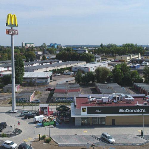 Budowa restauracji McDonald's , Kalisz, ul.Wojska Polskiego, 2018