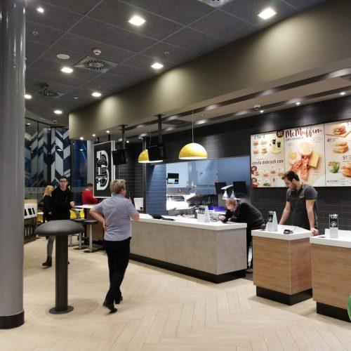 Roboty modernizacyjne dla rozbudowy restauracji sieci McDonald's, CH AVENIDA, Dworzec PKP, Poznań, 2018