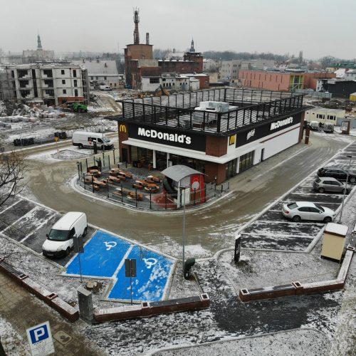 Budowa restauracji McDonald's , Krotoszyn, ul.A.Mickiewicza / Benicka, 2018