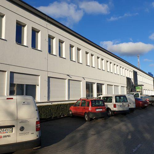 Zakończenie robót remontowych wobiekcie biurowym JURALE dla PARK GRUNWALD sp. zo.o., ul.Jeleniogórskiej wPoznaniu, 2019