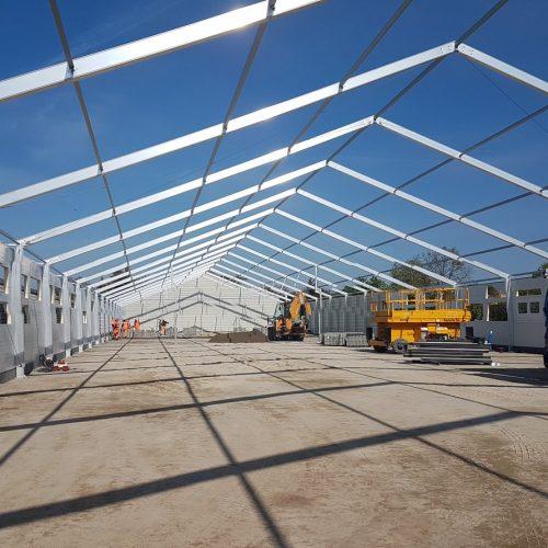 Budowa hali produkcyjno-magazynowej NGR Technologie, Grodzisk Wlkp., 2020