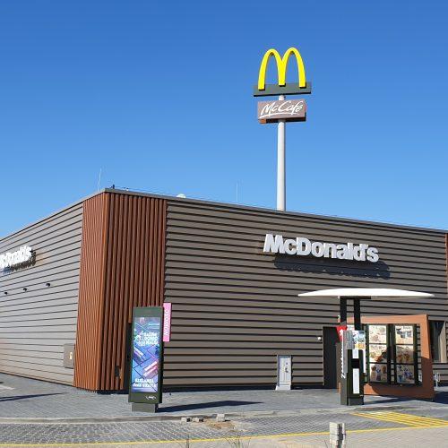 Budowa restauracji McDonald's, Grodzisk Wielkopolski, ul.Fabryczna / Zielonogórska, 2019