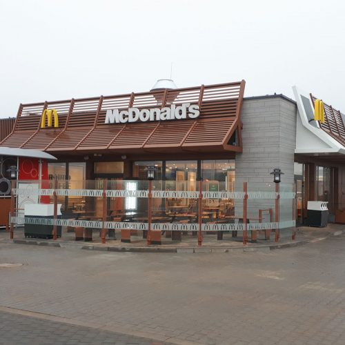 Budowa dwóch restauracji sieci McDonald's wPoznaniu, MOP- y przy trasie S3 Kochlice