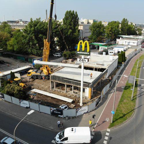 Przebudowa irozbudowa restauracji sieci McDonald's wPoznaniu, ul.Hetmańska, 2019